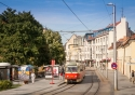 Trams are a great way to explore Bratislava, Slovakia