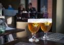 Grimbergen beers at Taverne Rubens, Antwerp, Belgium