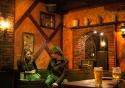 A quiet drink in Antwerp's Irish pub, The Irish Times