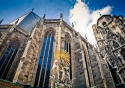 The magnificent Stephansdom Cathedral in Vienna, Austria
