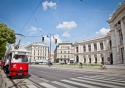 Vienna's excellent tramway is a cheap and convenient way to explore the city