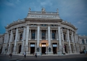 The Burgtheater ([Imperial] Court Theatre) in the Austrian capital of Vienna