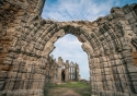 The stunning ruins of Whitby Abbey