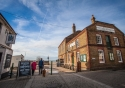 Whitstable's fishing and oyster heritage can be readily seen
