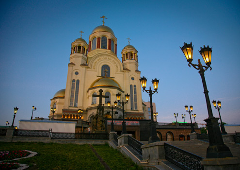 The Romanov Monastery in Ekaterinburg