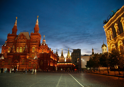 Red Square in Moscow, Russia - the start of our Transsiberian adventure