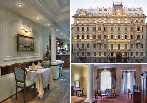 St Petersburg's prestigious Petro Palace Hotel