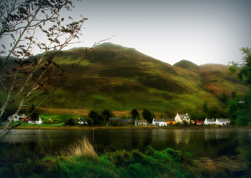 Dornie in Scotland's Western Highlands