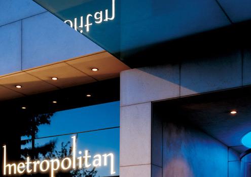 London's prestigious Metropolitan Hotel