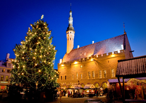 Estonia's capital Tallinn hosts one of Europe's finest Christmas markets