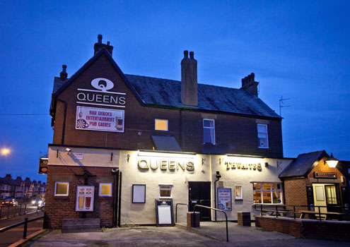 The Queens Hotel in Fleetwood, Lancashire