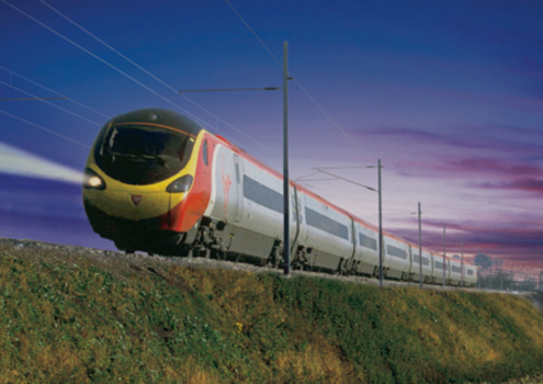 The majestic Virgin Pendolino