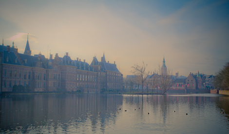 The Hague in winter
