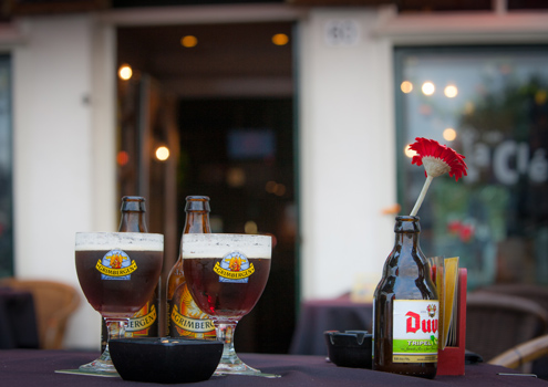 La Clé promenade café in Maastricht