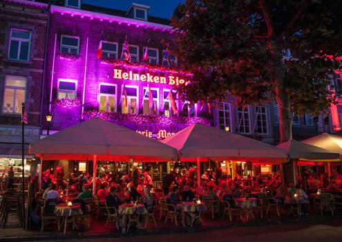 Brasserie Monopole on Maastricht's Vrijthof