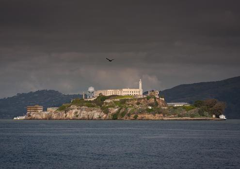 Alcatraz island, America's notorious penitentiary