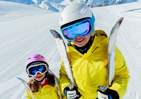Alpine skiing for kids