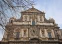 The Carolus Borromeus church in Antwerp, Belgium