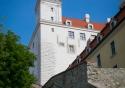 Bratislava Castle in the Slovakian capital