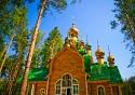 One of the seven Romanov churches in Ekaterinburg, original burial site