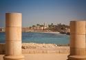 Herod's Palace in Caesarea, Israel