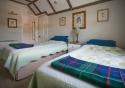 A bedroom at The Moor of Rannoch hotel