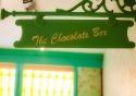 The Chocolate Box interior signage, Antwerp, Belgium