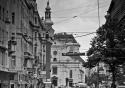 Typical Viennese street scene - Vienna, Austria