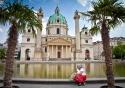 The Karlskirche (St Charles' Church) in Vienna, Austria